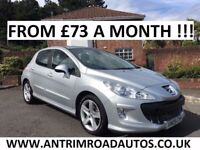 2009 PEUGEOT 308 SPORT 1.6 HDI 110 BHP ** FINANCE AVAILABLE ** LOW MILES ** ALL CARDS ACCEPTED