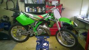 1997 Kawasaki KX125 Monster Energy Like New
