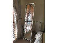 Ikea White Contemporaty Full length Mirror- excellent condition!!