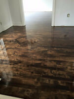 Hard wood floor sanding from 1.25$ sq feet West and +