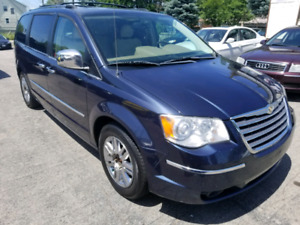 2008 Chrysler Town & Country Limited Dual DVD Sunroof