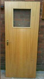Internal fire doors.