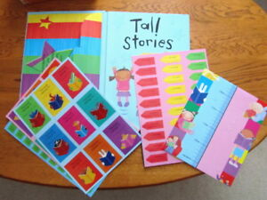 TALL STORIES with HEIGHT CHART & Special STICKERS