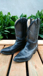Boulet All Leather Cowboy Western Boot