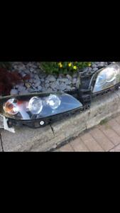 2005- 7 Mazda 3 SEDAN headlights