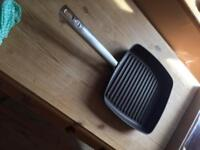 Anolon grill and frying pan