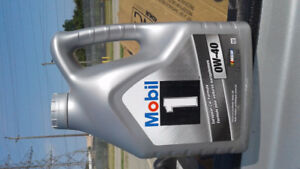 MOBIL 1, 0W-40 FULL Synthetic Oil (4) x 4 Liter Jugs $120.00 ALL