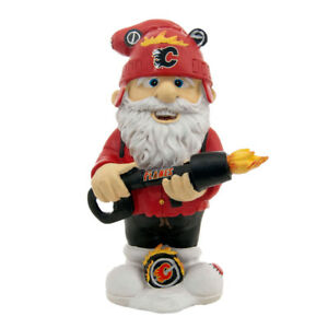 Calgary Flames NHL Resin Collectibles Gnomes