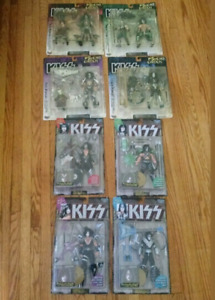 8 KISS McFARLANE action figures