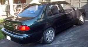1999 Toyota Corolla LE Sold AS-IS $700 OBO (Repair Needed)