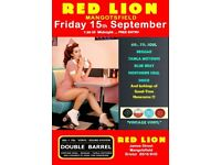 FRIDAY 15th SEPTEMBER - 60s 70s SOUL / REGGAE / MOTOWN with DOUBLE BARREL - MANGOTSFIELD