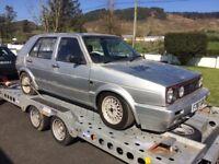 1989 VOLKSWAGEN GOLF GTI 8 valve...PROJECT.
