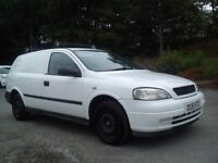 "★02 Vauxhall astra van 1.7 diesel ""isuzu engine"" great runner ★ combo"