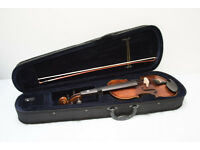 Valentino V6-102 4/4 Violin with bow, case and rosin