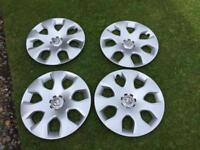 Genuine Vauxhall 16 , wheel trims as new !! Only £30 !