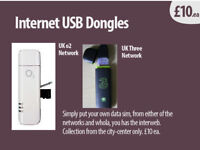 USB Internet Dongles (x2) (UK) o2 /or Three