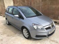 Vauxhall Zafira 1.6 Club, *7 Seater* 9 Stamps, Alloys, Air Con, 12 Month Mot, 3 Month Warranty