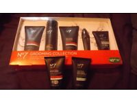 BOOTS NO7 FACIAL GROOMING COLLECTION ,PLUS 2 EXTRA PRODUCTS ALL NEW