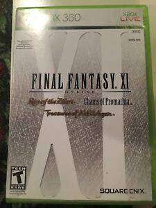 Final Fantasy XI for sale