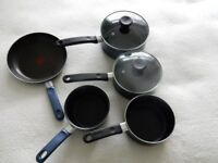 Set of Tefal non stick pans