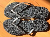 New and unused Havaianas flip flops UK size 5/6