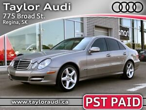 2009 Mercedes-Benz E-Class PST PAID, 4MATIC, AVANTGARDE EDITION