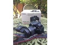 Canon 650D + 18-55mm lens
