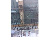 Cast Iron Gate with Fittings