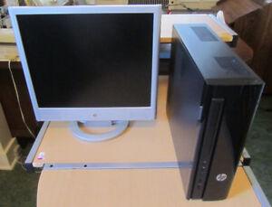 HP Slimline Desktop PC - Model 450-A109