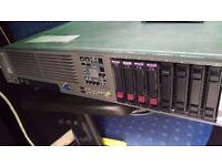 HP Data Domain Server DL380G5 ProLiant 8 Port Quad Core 2.66Ghz Processor 436Gig Drive
