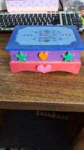 hand painted box- done by myself