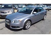 2006/06 Audi A4 2.0 TDI S Line 4dr LOW MILEAGE, AUDI HISTORY, FABULOUS SPEC & DRIVES WELL