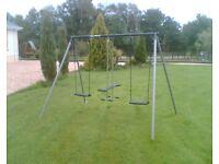 Metal Double Swing