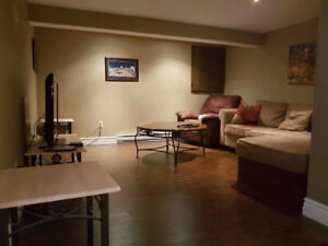 1 bedroom basement apartment located in CBS (Fully furnished)