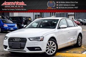 2014 Audi A4 Komfort Quattro|Sunroof|Leather|Bluetooth|Sat Radi