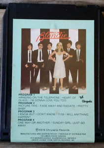 3 Eight track tapes BLONDIE Parallel Lines BREAD The Best of Bre