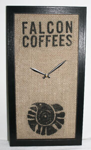 Coffee Burlap Art