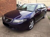 Honda Accord 2.0 i VTEC SE Tourer 5dr - 2004, 12 months MOT, New Clutch, 3 Owners, 2 Keys, £2195