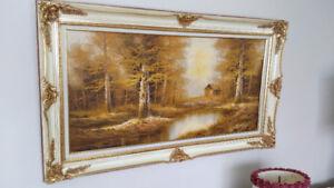 Beautiful Original Painting by Artist Bellaus  - Very Large