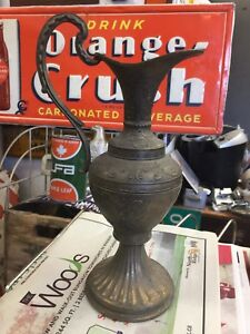 Very old Italian made brass pitcher 306-717-9678