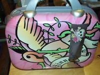 BRAND NEW PINK COOKIE VANITY CASE WITH STRAP