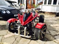 2013 Spy Racing 250cc ROAD LEGAL Quad Bike ATV (not off-road buggy, raptor)