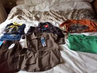 Lovely selection of boys clothes mostly new some with tags age 6 yrs