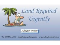 Land wanted for develpment