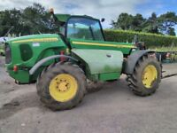 2004 John Deere 3215 Teleporter 4WD complete with 6ft bucket and Forks. Mechanically sound A1 Tyres