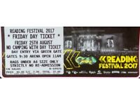 Reading Festival Friday 25th Day Ticket Only