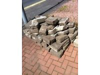 Cobble stones for sale - £30 the lot