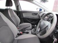 SEAT LEON 1.6 TDI S 5d 105 BHP (blue) 2013