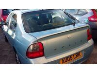 Rover 45 45 Club SE CVT (blue) 2005