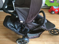 Phil and Teds push chair (double )..used...excellent condition